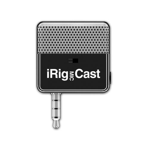 iRig MIC Cast Mini Microphone for iOS Devices